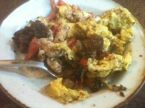 Brains and Eggs- this dish was rich and delicious, nothing weird about it, absolutely lovely.