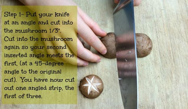 mushroom star-step 1